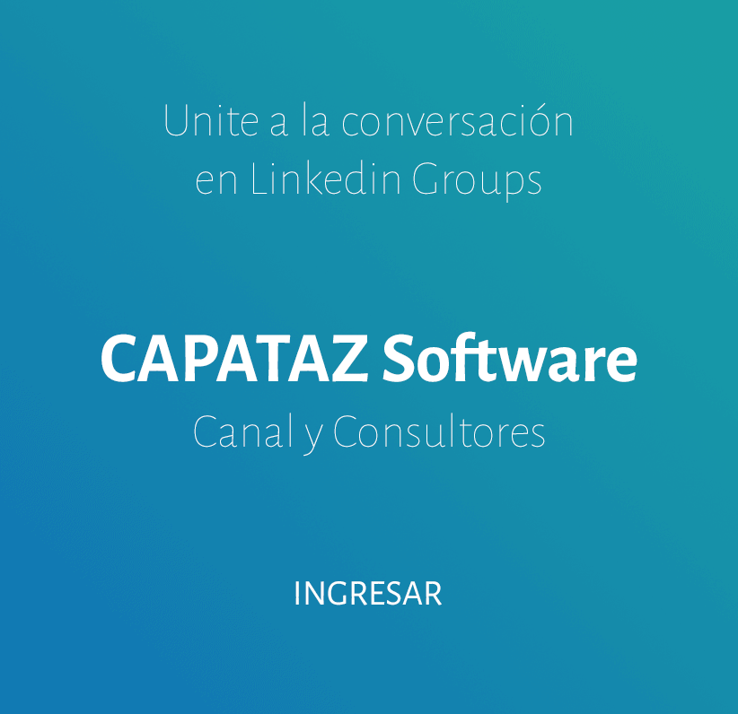 CAPATAZ Software Canal y Consultores en Linkedin Groups